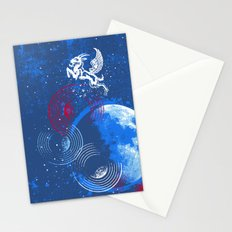 Winged Goat of the Cosmos Stationery Cards