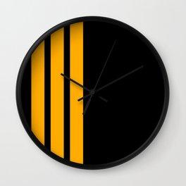 CoPilot Stripes Wall Clock