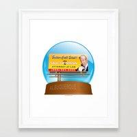 better call saul Framed Art Prints featuring Better Call Saul! by tuditees