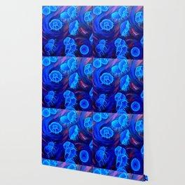 Moon Jellyfish Wallpaper