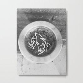 cigs Metal Print