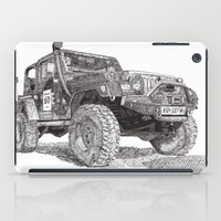 jeep iPad Cases featuring Jeep by Rik Reimert