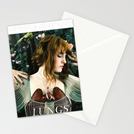 FLORENCE THE MACHINE LUNGS TOUR DATES 2019 GURITA Stationery Cards