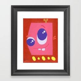 Lucky Bucky Framed Art Print