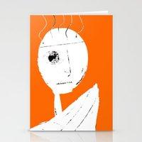 clockwork orange Stationery Cards featuring Clockwork Orange by Defedia