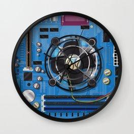 Computer Motherboard Wall Clock