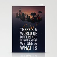 bioshock infinite Stationery Cards featuring Bioshock Infinite Quote by Simon Ward