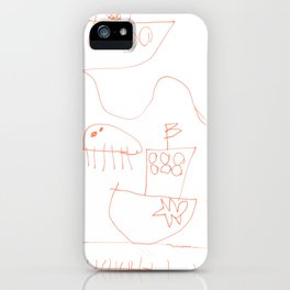 Life at sea iPhone Case