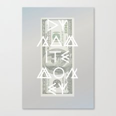 DYNAMITE MONEY Canvas Print