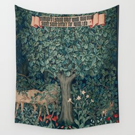 William Morris Greenery Tapestry Pt 3 Wall Tapestry