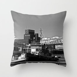 Old Port Montreal Throw Pillow