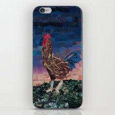 Paper Rooster iPhone & iPod Skin