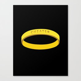 Cheater Canvas Print