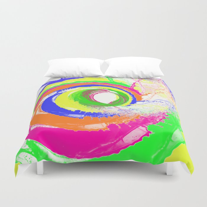 Whirlpool of Colour Duvet Cover