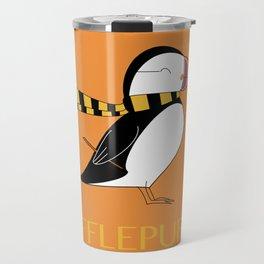 Hufflepuffin Travel Mug