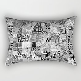 The Letter C Rectangular Pillow