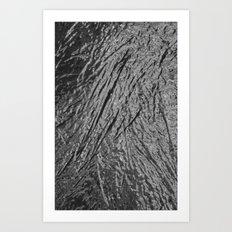 Chrome Abstract Art Print