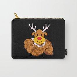 Brodolf Merry Christmas Bodybuilder Carry-All Pouch
