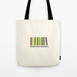 Reading is good Tote Bag