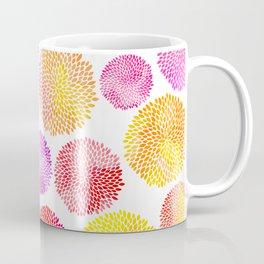 Yellow Red Purple Fireworks Coffee Mug