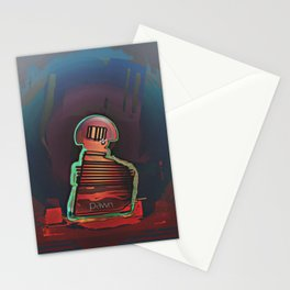 PAWN / Black / Chess Stationery Cards