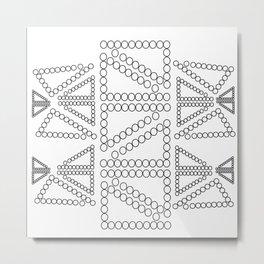 Circle Continuation Metal Print