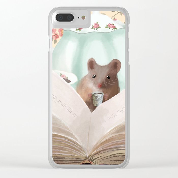 The English Mouse Clear iPhone Case