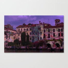 Psychedelic Botanicals in Venice Canvas Print