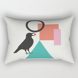 constructivist bird Rectangular Pillow