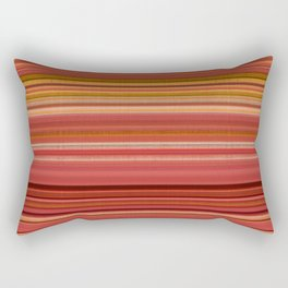 """""""Pink lines burlap"""" Rectangular Pillow"""