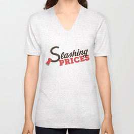 Slashing Prices! Unisex V-Neck