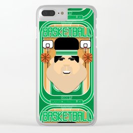 Basketball Green - Court Dunkdribbler - Victor version Clear iPhone Case