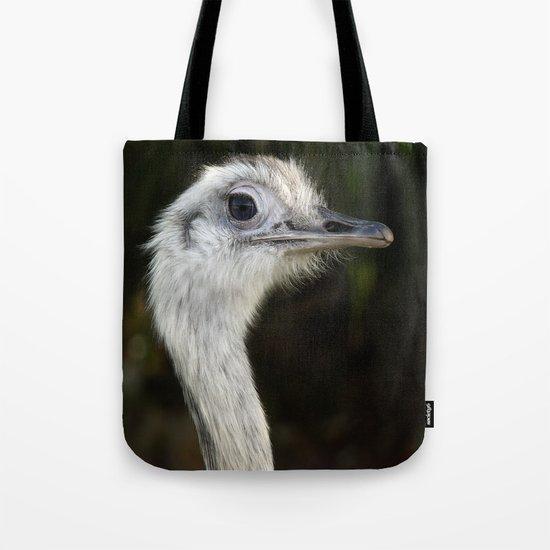 Ostrich, Bird Tote Bag