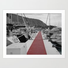 Spanish Harbour Art Print