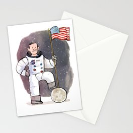 Neil Armstrong Stationery Cards
