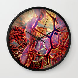 Beauty Beyond Compare Wall Clock