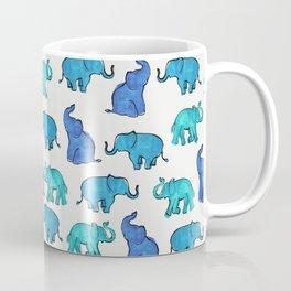 Elephant - white Coffee Mug