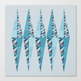 Modern Rhombus Canvas Print