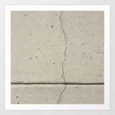 Real, Concrete, not Abstract Art Print