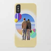 melissa smith iPhone & iPod Cases featuring Melissa & Ernie by MCDiBiase