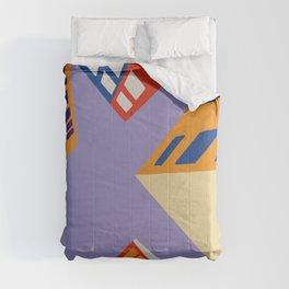 Skyscrapers Comforters