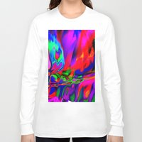 cracked Long Sleeve T-shirts featuring Cracked by David  Gough