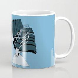 AirportChairs Blue Coffee Mug