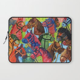 Happy Hobby-Horses Laptop Sleeve