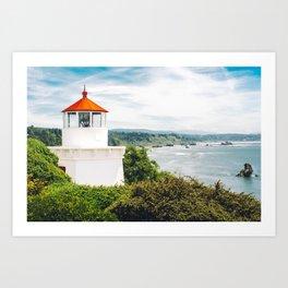 Eureka Lighthouse Art Print
