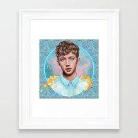 the neighbourhood Framed Art Prints featuring Neighbourhood by Will Costa