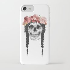 Festival skull iPhone 7 Slim Case