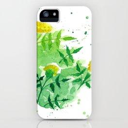 Marigold 4 iPhone Case