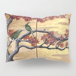 Japanese Fall Leaves Pillow Sham