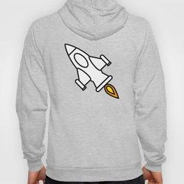 Space Rocket Cartoon Hoody